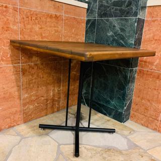 木製テーブル◼️使用期間1ヶ月◼️72×72×H65 - 家具