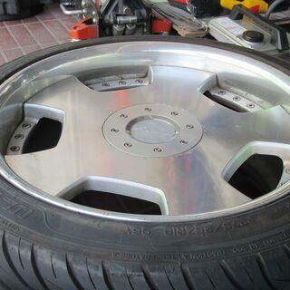 GF50シーマで履いてたWORKユーロライン19インチアルミタイヤセット - 車のパーツ
