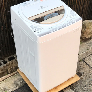 東芝 6.0kg洗濯機 AW-6G2(W)