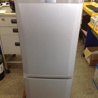【最短即日配送可能!】146L 冷凍冷蔵庫 三菱【9651…