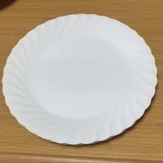 白いお皿27センチ 2枚セット(中古品)