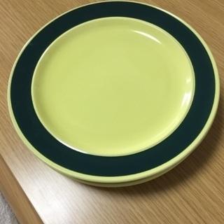 お皿4枚セット(中古)18.5センチ