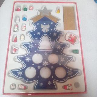 クリスマス 木製ツリー 飾り