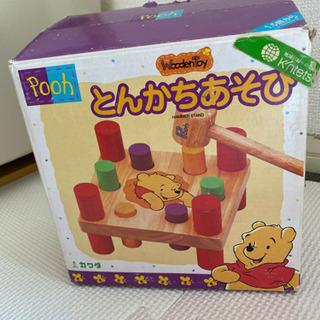 とんかちあそび おもちゃ プーさん 箱あり