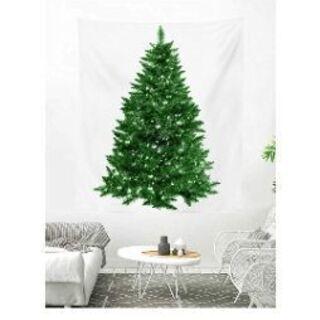 クリスマスパーティの時に1度だけ使った壁掛けツリーと飾り