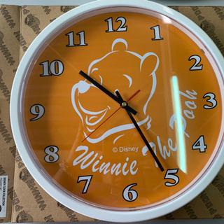 壁掛け時計  くまのプーさん