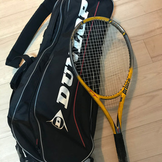 prince テニスラケット DUNLOP ラケットケース