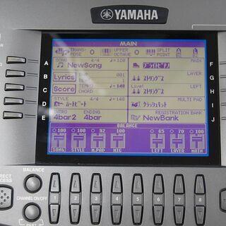 YAMAHA 61鍵盤 電子キーボード PSR-2000 PORTATONE シンセサイザー ACアダプタ・ペダル・ソフトケース付き ヤマハ ポータトーン 札幌市 清田区 平岡 - 札幌市