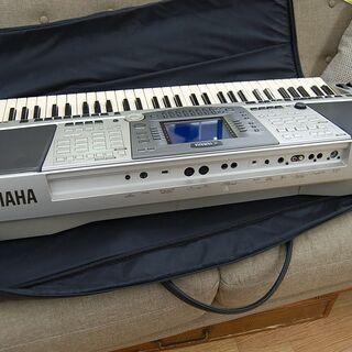 YAMAHA 61鍵盤 電子キーボード PSR-2000 PORTATONE シンセサイザー ACアダプタ・ペダル・ソフトケース付き ヤマハ ポータトーン 札幌市 清田区 平岡 − 北海道