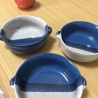 シチュー皿2個セット(中古品)