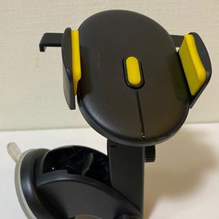 無料★車載 吸盤式 360度回転 携帯電話 スマートフォン タブレットホルダーの画像