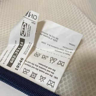 無料★IKEA イケア メッシュ 衣類收納バッグ ポーチ 2点 旅行 出張 小物入れ - 売ります・あげます