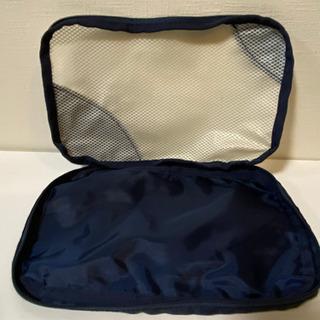 無料★IKEA イケア メッシュ 衣類收納バッグ ポーチ 2点 旅行 出張 小物入れ − 京都府