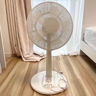 【美品】YUASA 扇風機 ホワイト【カバー付き】