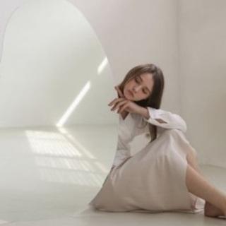 【ネット決済】韓国 鏡 ウェーブミラー♡(Lサイズ)