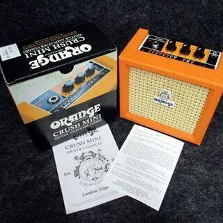 美品 オレンジ クラッシュ ミニ ORANGE CRUSH MINI GUITAR AMPLIFIER COMBO ギター 札幌市 中央区の画像