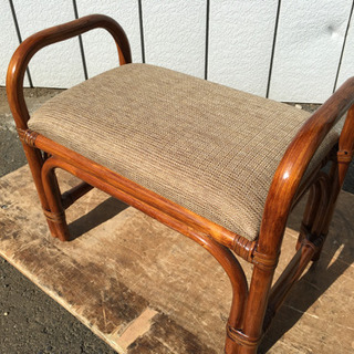 ■籐の椅子■スツール 籐のイス