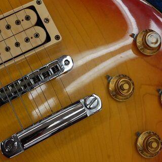 ビンテージ AriaProⅡ エレキギター レスポールタイプ LS-400? マツモク期? チェリーサンバースト ハードケース付き アリアプロ2札幌市 清田区 平岡 - 売ります・あげます