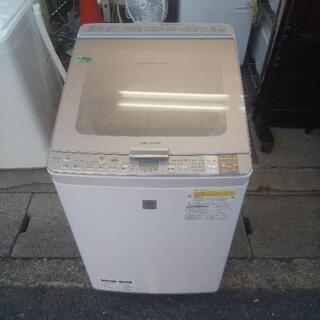 【SHARP】グラストップ洗濯機