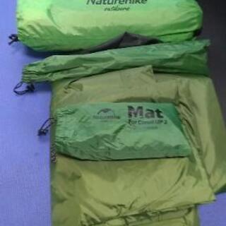 キャンプ用品セット テント、焚き火台 レジャーシート その他色々