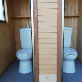 洋式トイレ4個付きで一棟分です − 岐阜県