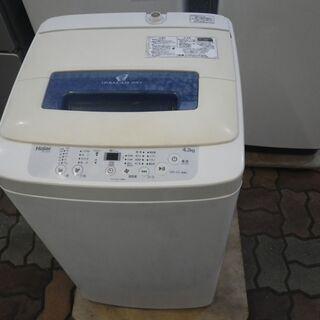 ハイアール 4.2kg洗濯機 JW-K42M 2018年製…