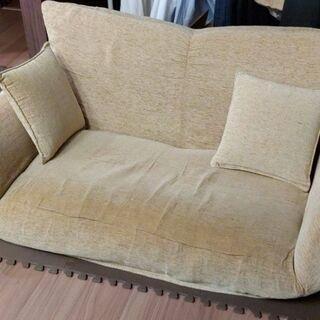 ソファー 2人掛けソファ リクライニング ベッド
