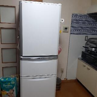 【ネット決済】白い冷蔵庫 右開き