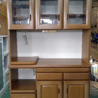 松田家具 食器棚 116×40×197