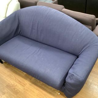 HUKLA 2人掛けソファー売ります!