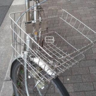 ブリジストン!自転車!LEDライト カゴステンレス - 京都市