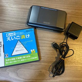 【ネット決済】任天堂DS 初期タイプ+もっとえいご漬けソフト
