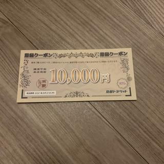 トヨペット 用品クーポン 割引券