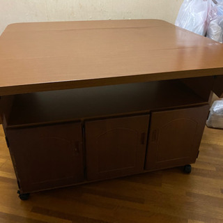 バタフライテーブル バタフライワゴン キッチンワゴン
