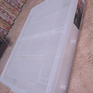 収納BOX  ニトリ・ベッド下収納BOX