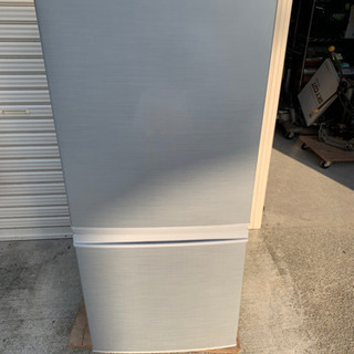 シャープ ノンフロン冷凍冷蔵庫 SJ-D14C-S  20…