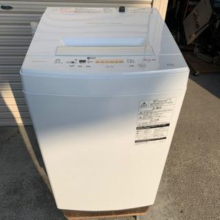 TOSHIBA 東芝電気洗濯機 AW-45M5 2017年製