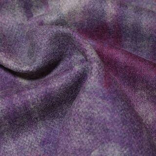 布・生地(はぎれ)灰色と紫色のマーブル柄 [No.36]