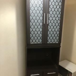 2点セット キッチンボード 食器棚 ニトリ
