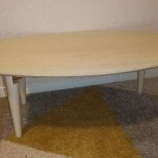 お譲り先決定済み【無料】ローテーブルの画像