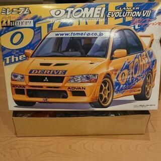 TOMEI 三菱ランサーエボリューションⅦ プラモデル