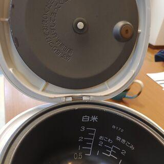 3合炊き マイコン式炊飯器 - 家電