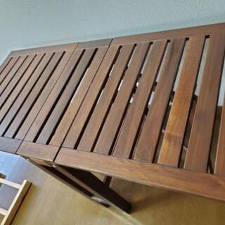 机、テーブル、折り畳み