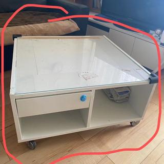 収納付きセンターテーブルIKEA