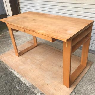 天然木製 机、テーブル
