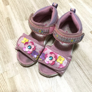 女の子 女児 サンダル 17センチ 靴