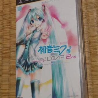 PSP 初音ミク ProjectDIVA 2nd