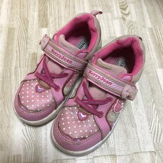 女の子 女児 靴 19センチの画像
