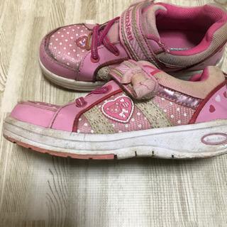 女の子 女児 靴 19センチ - 柏市