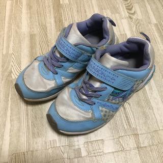 女の子 女児 靴 瞬足 21センチの画像